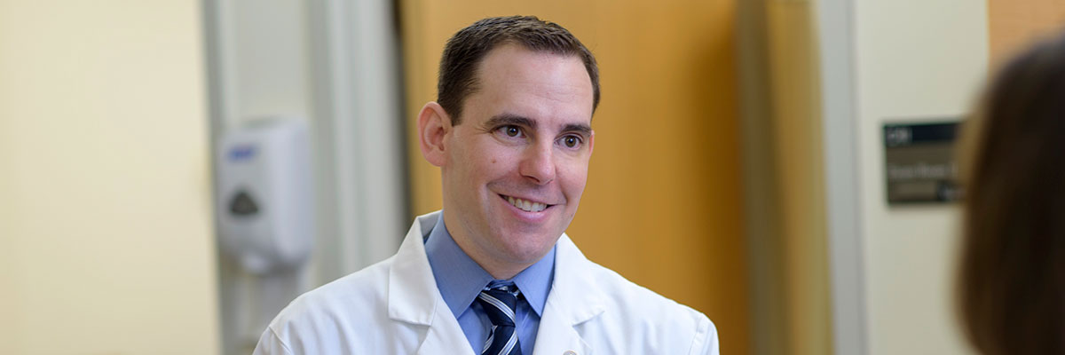 MSK medical oncologist and testicular cancer expert Darren Feldman