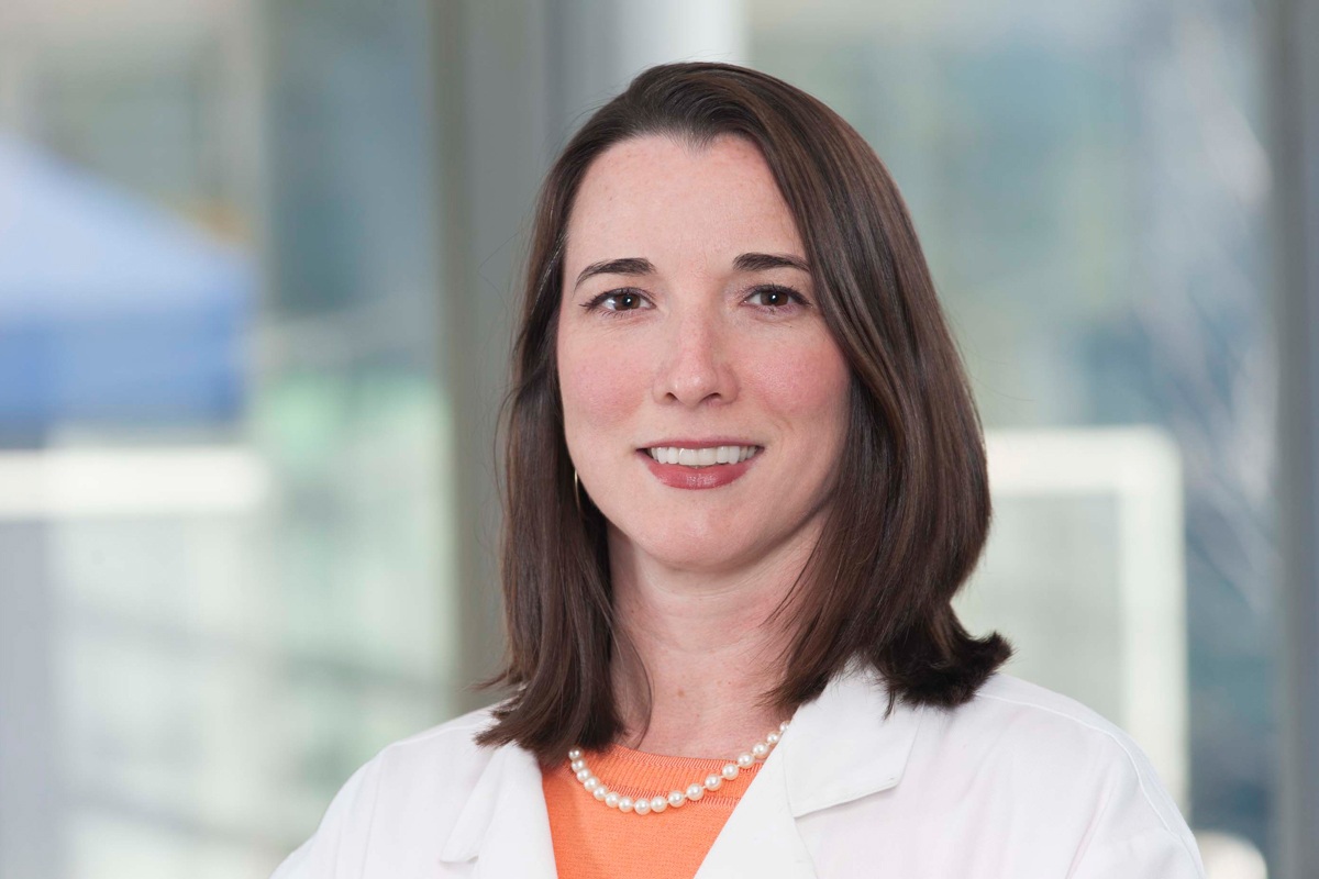 Nurse practitioner Jennifer Flood-Caldwell