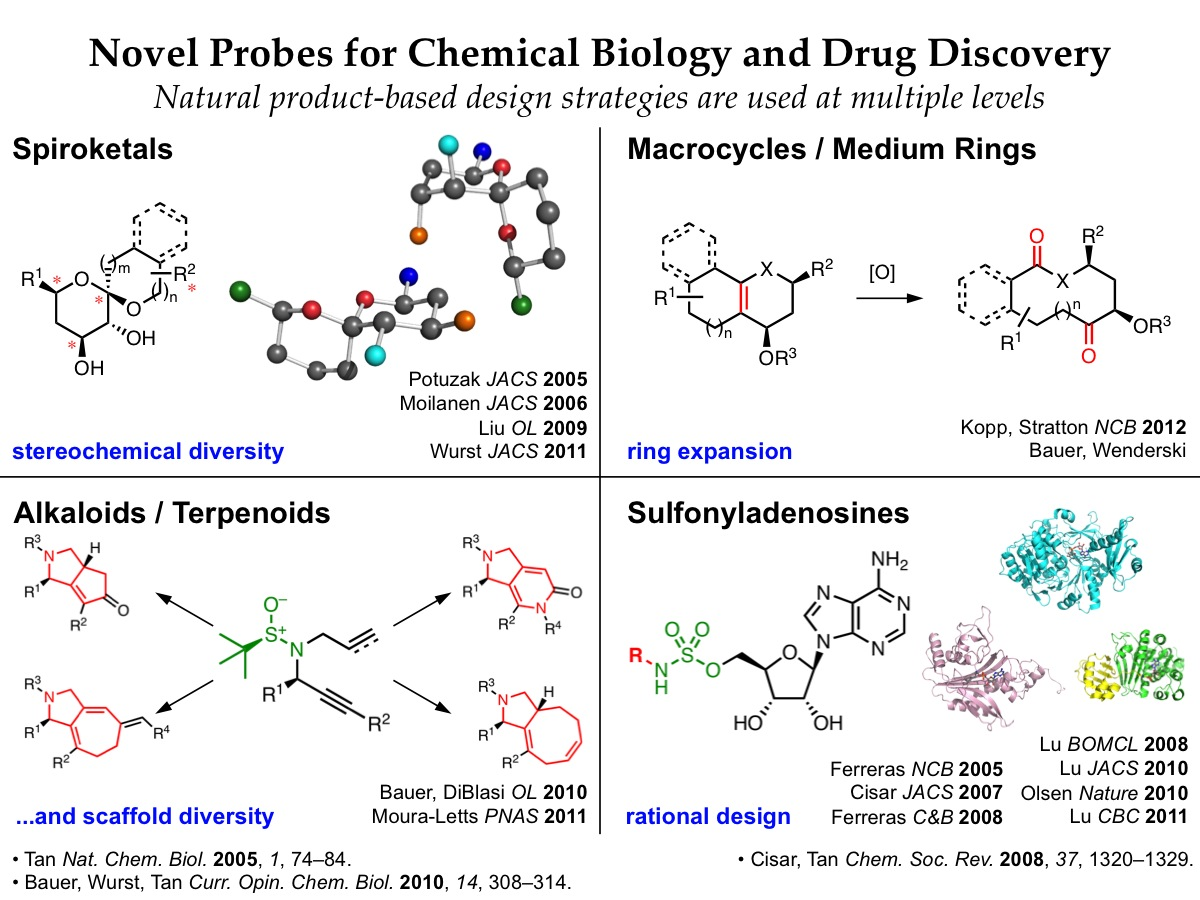 Natural product-based strategies for chemical biology and drug discovery