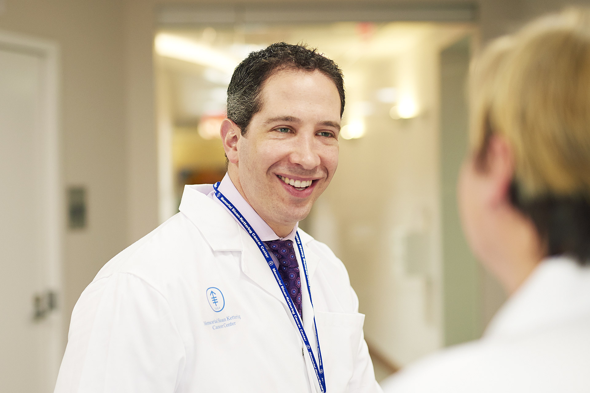 Medical oncologist Andrew Epstein