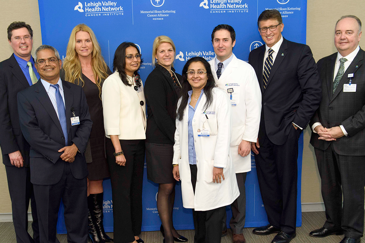 Memorial Sloan Kettering and Lehigh Valley Health Network doctors