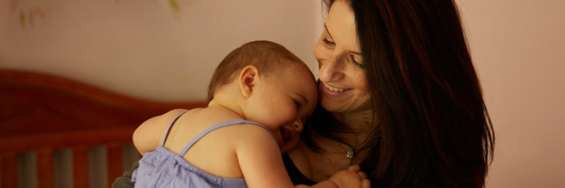 Suzanne had cervical cancer. Now she has a daughter.