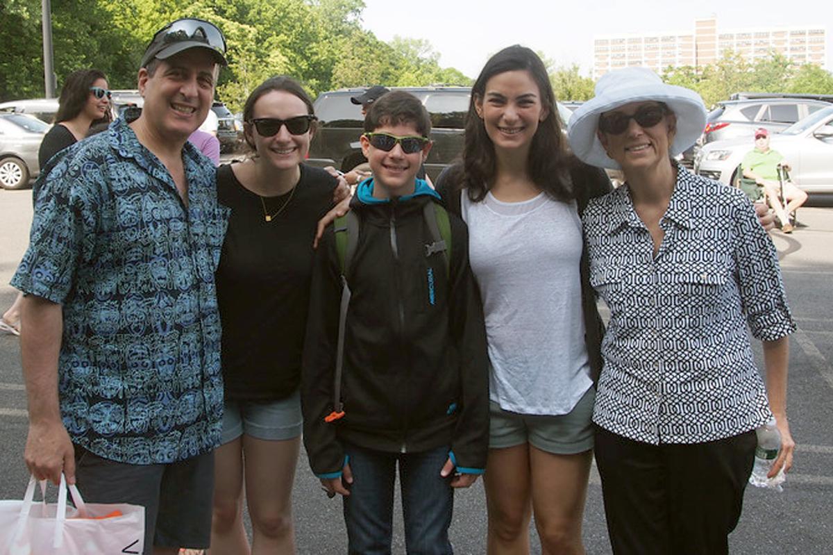 Rachel Bigio and her family