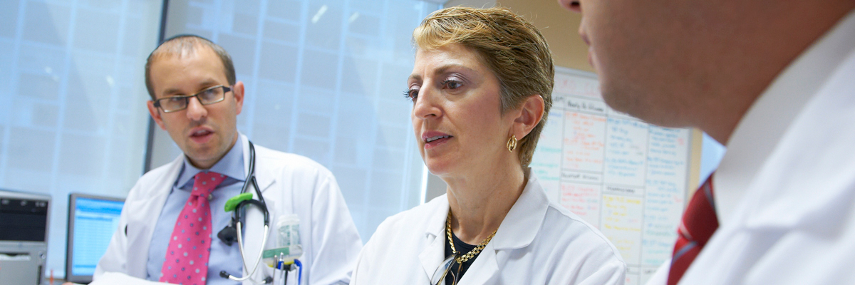 Neuro-oncologist Lisa DeAngelis is a member of the team for assessing and treating metastatic brain tumors.