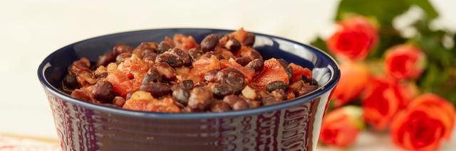 Meatless Black Bean Chili
