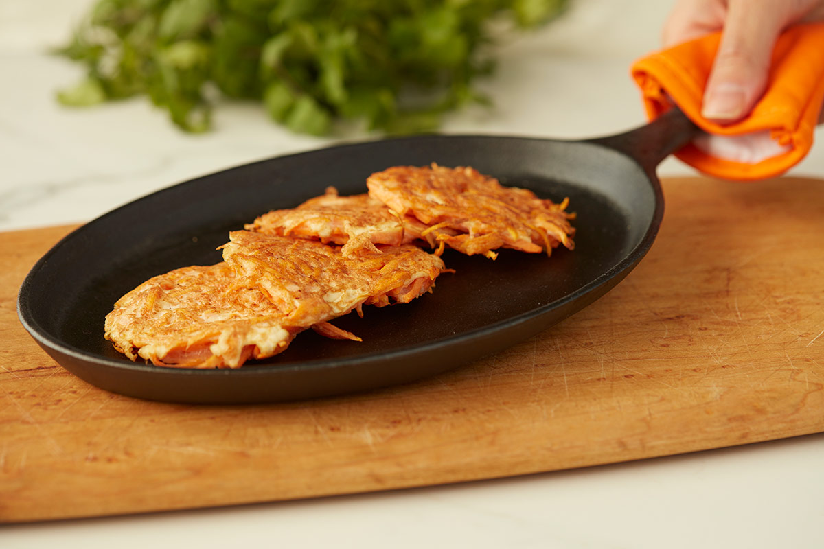 Sweet Potato Hash Brown Patty
