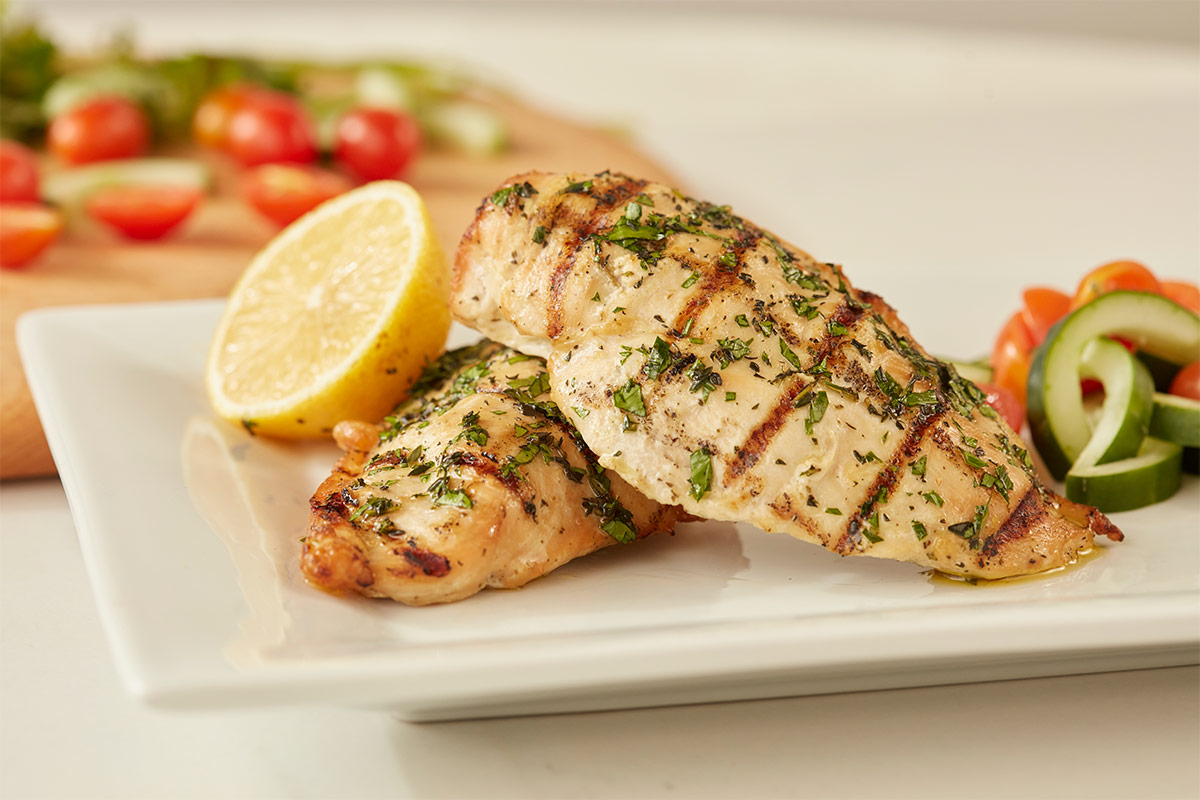 Grilled Chicken with Greek Spices