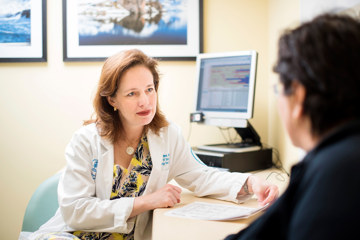 Want to learn more about gynecologic cancer? MSK surgeon Ginger Gardner explains how we can help.