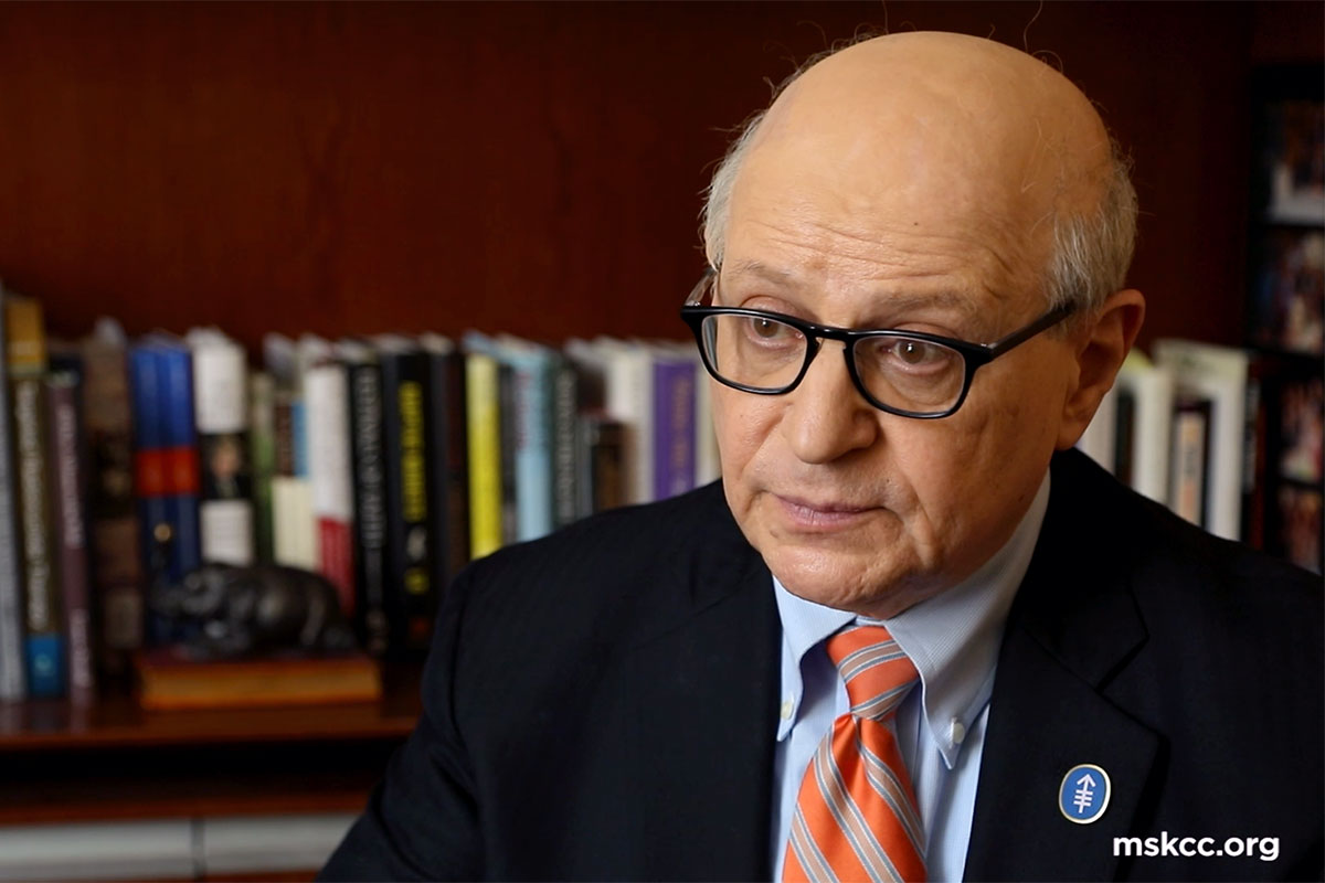 medical oncologist Larry Norton