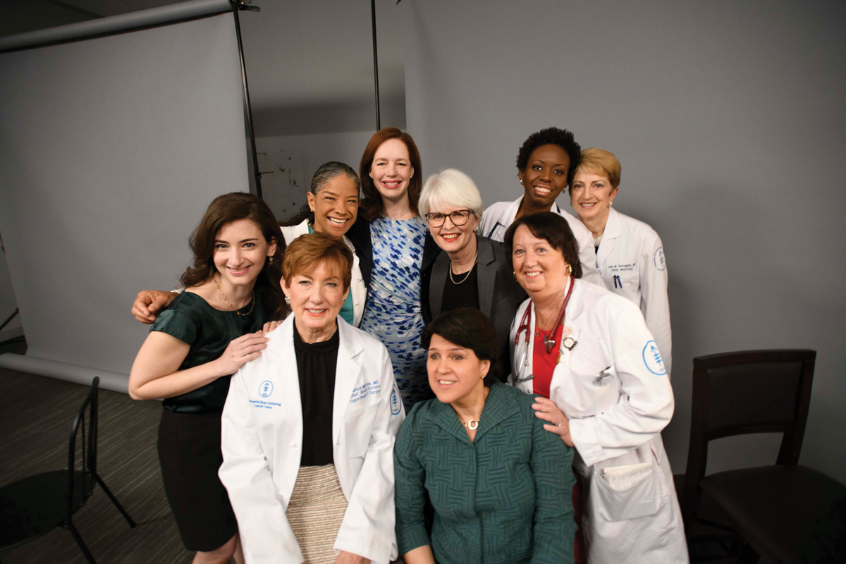 A group of women doctors and scientists