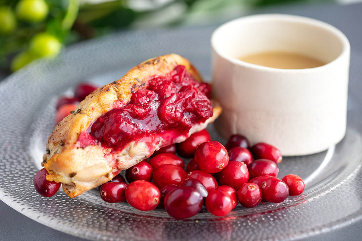 Cranberry-Stuffed Chicken Breasts