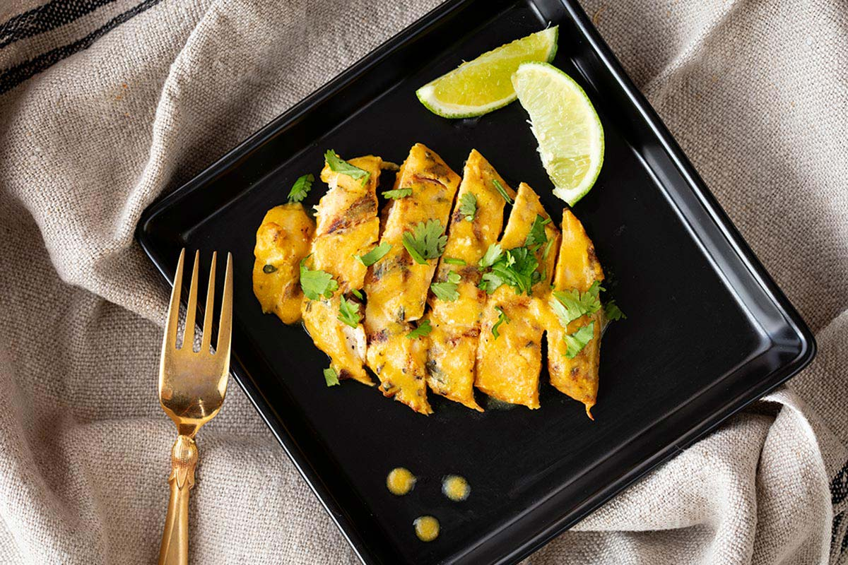 Lime and Coconut Chicken Breast