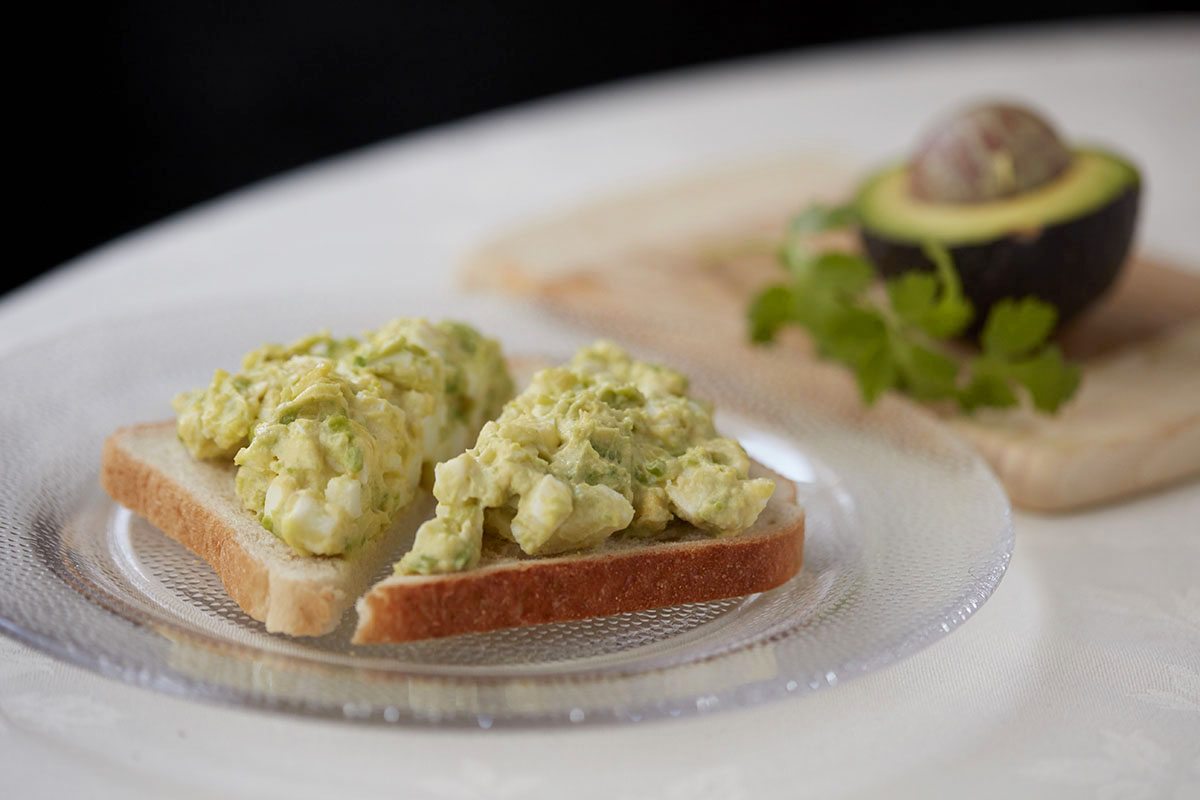 Avocado Egg Salad with Greek Yogurt