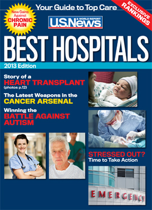 Memorial Sloan Kettering ranked in U.S. News & World Report