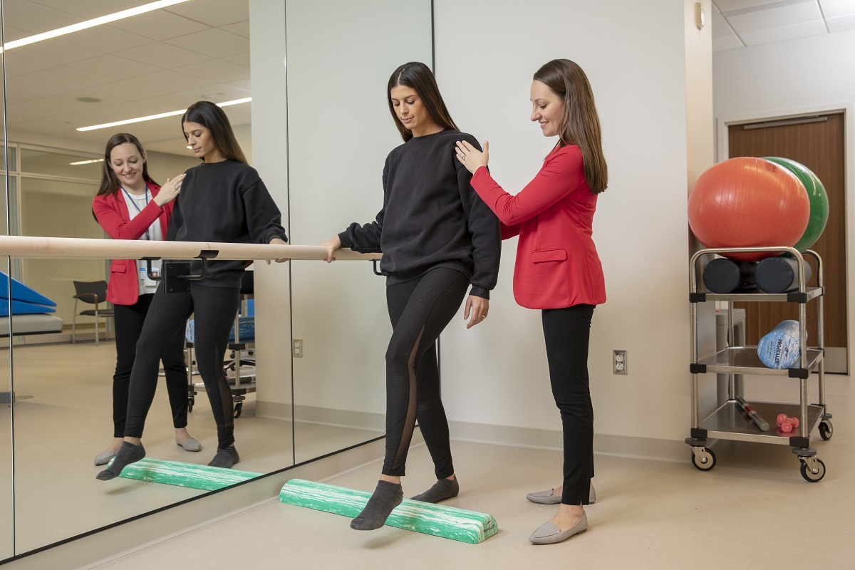 Physical therapy at MSK