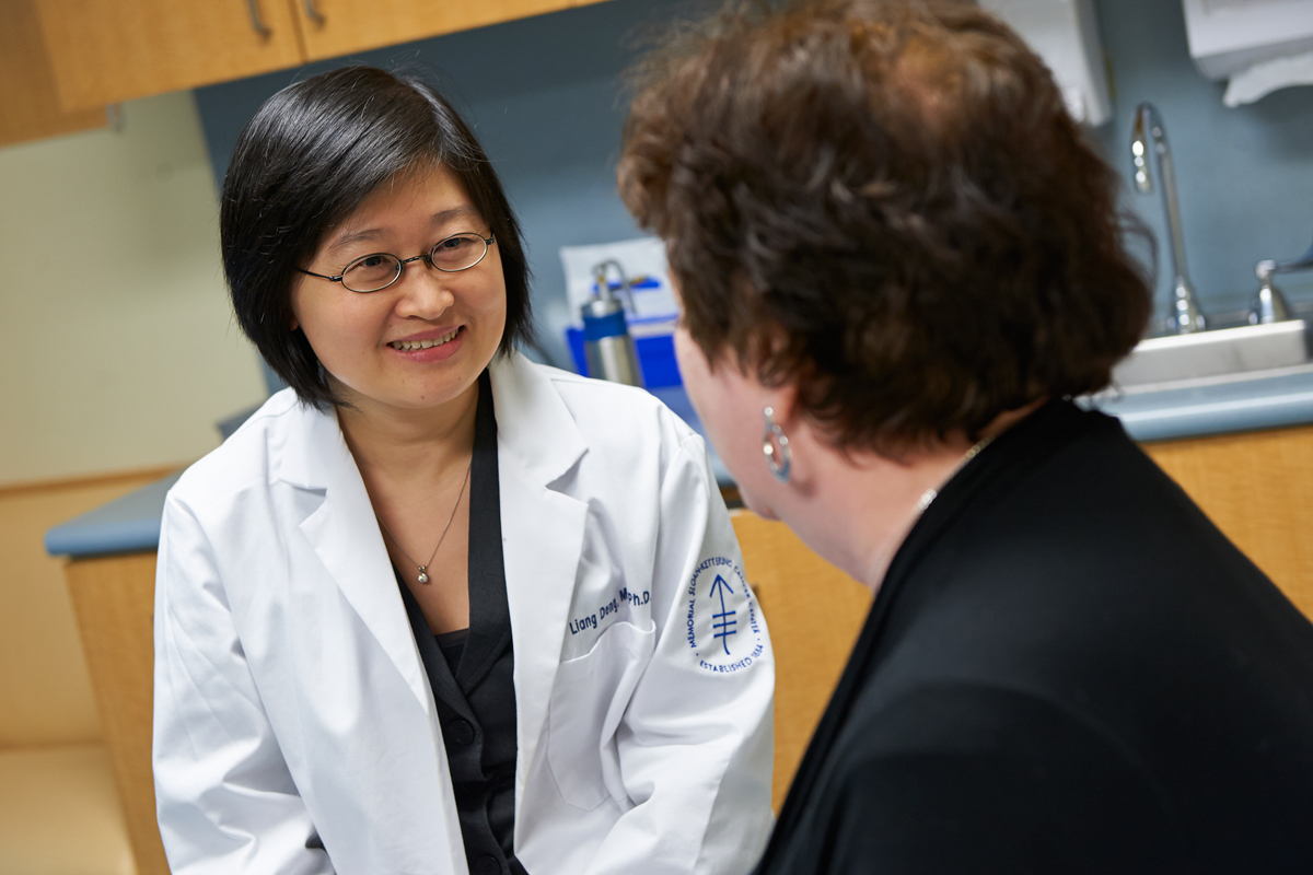 Physician-scientist Liang Deng