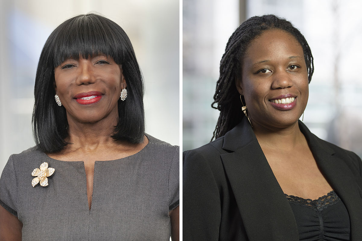 Veronica McLymont, PhD, RD, CDN and Tatanisha Peets, MPH, RD, CDN