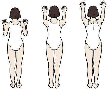 Figura7. Estiramiento contra la pared