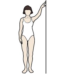 Figura8. Estiramiento de lado contra la pared