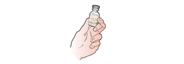 Figure 4. Checking medication label
