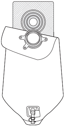 Figure 4. Attach the pouch