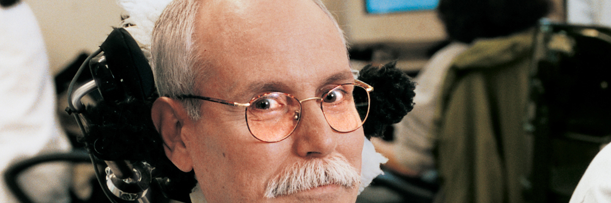 Cancer immunologist Alan Houghton