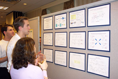 Justin Potuzak poster, diversity oriented synthesis, rational drug design, and chemical biology research