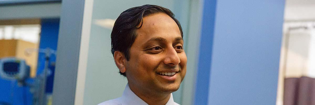 Pediatric osteosarcoma expert Srikanth Ambati