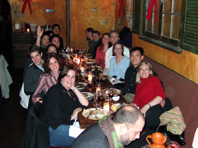 Group Holiday Dinner 2005, diversity oriented synthesis, rational drug design, and chemical biology research