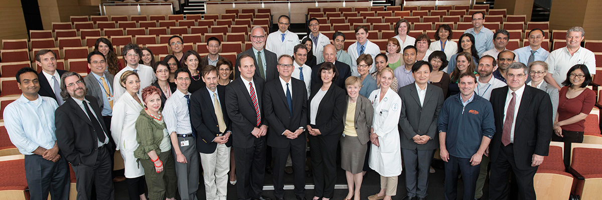Pictured: Members of the David M. Rubenstein Center for Pancreatic Cancer Research