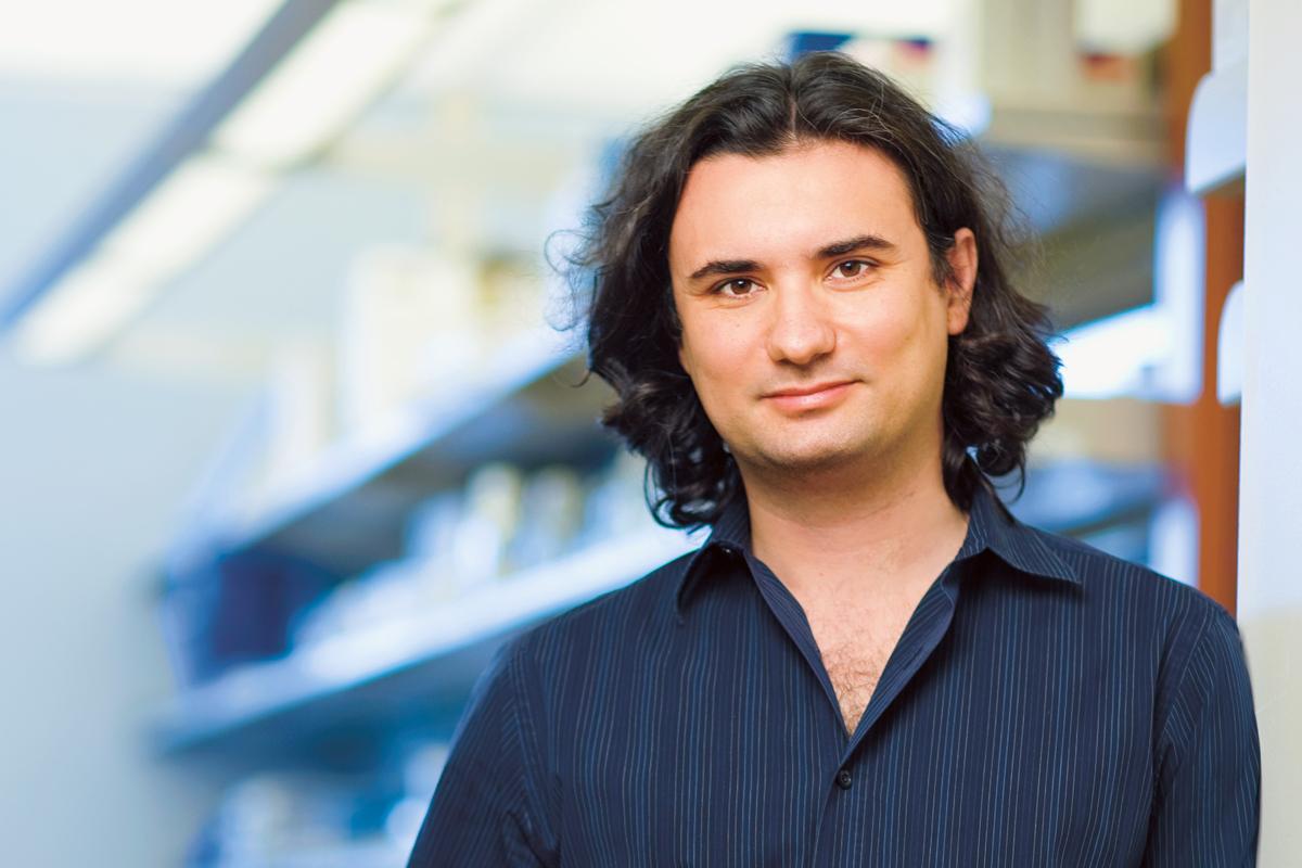 Cancer biologist Andrea Ventura