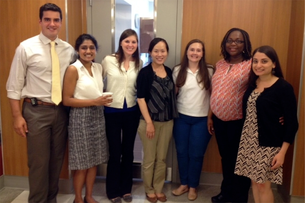 First-Year Pediatric Hematology/Oncology Fellows