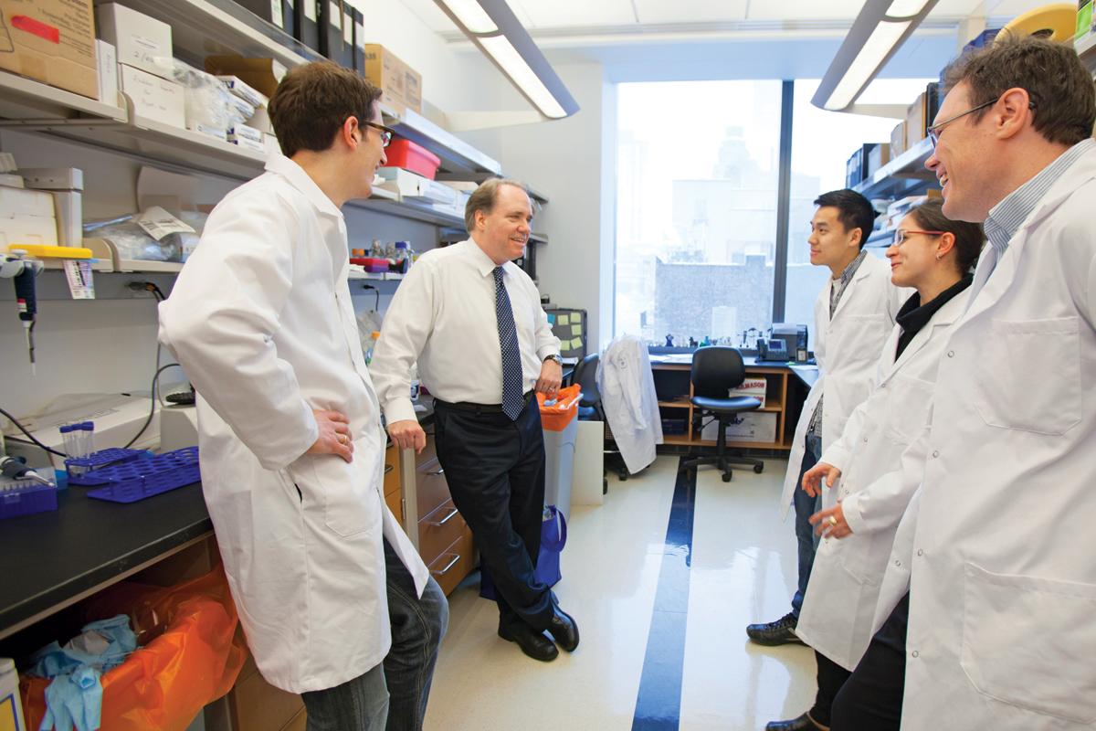Memorial Sloan Kettering scientists in the area of epigenetics