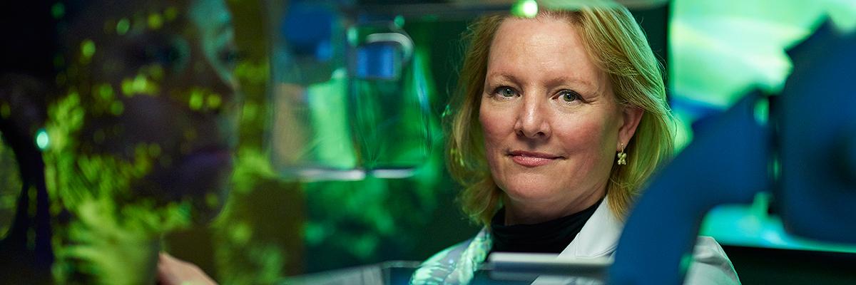 Breast imaging radiologist Elizabeth Morris