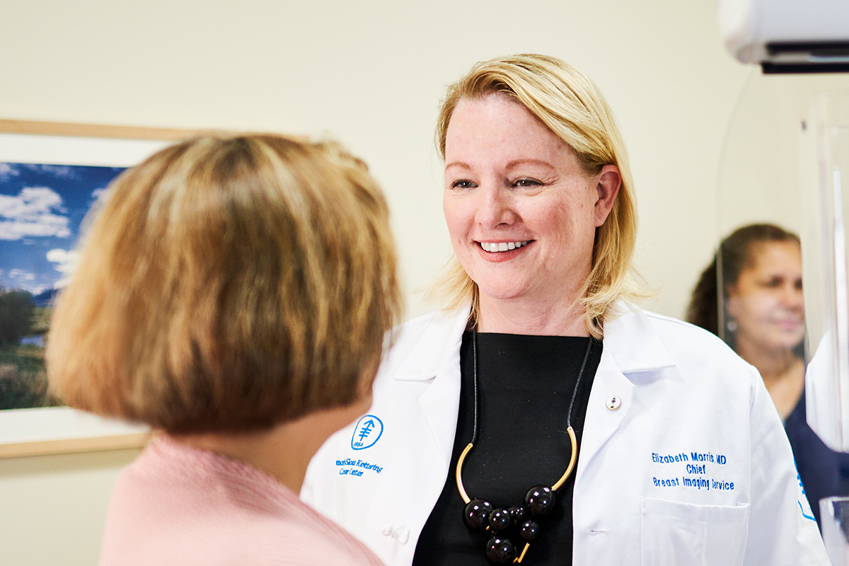 MSK imaging radiologist Elizabeth Morris