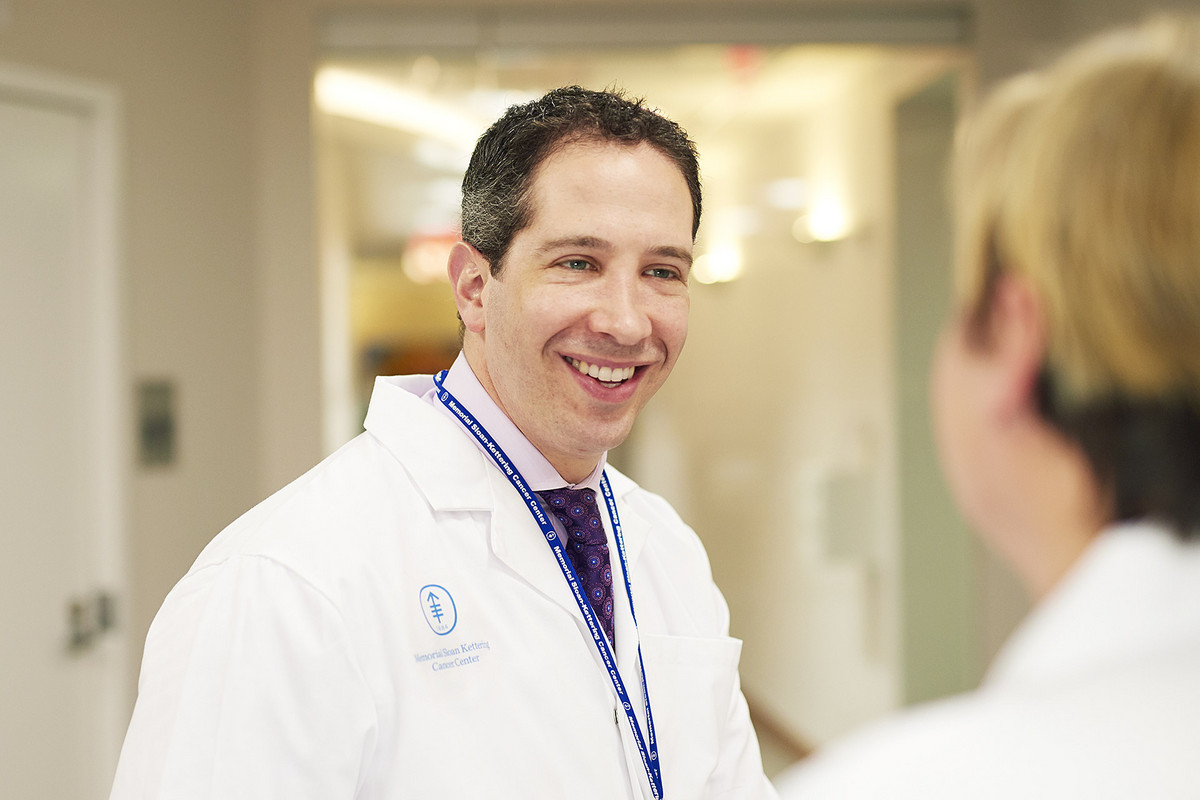 Andrew Epstein, a member of our Gastrointestinal Oncology Service, studies the optimal integration of palliative medicine with cancer care. He also teaches communication skills to medical oncology fellows.