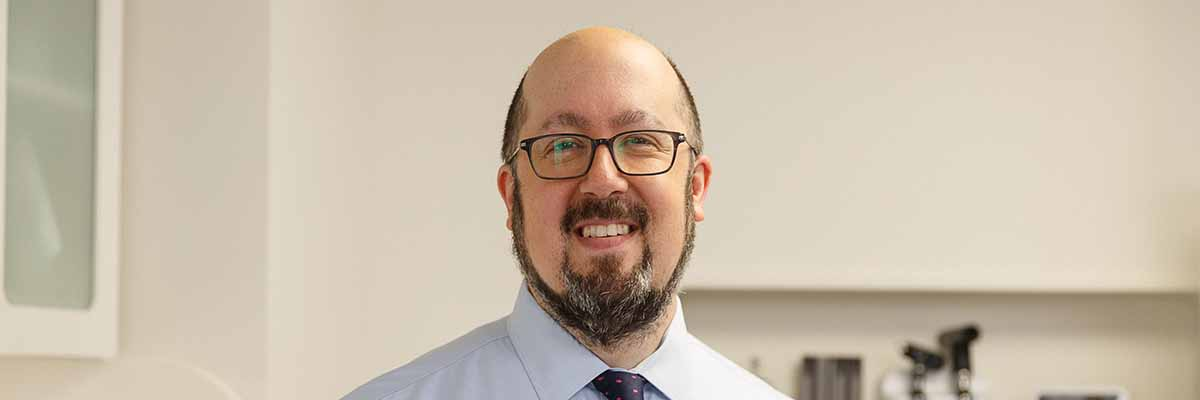 Memorial Sloan Kettering medical oncologist Matthew Matasar