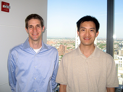 Justin and Derek, diversity oriented synthesis, rational drug design, and chemical biology research