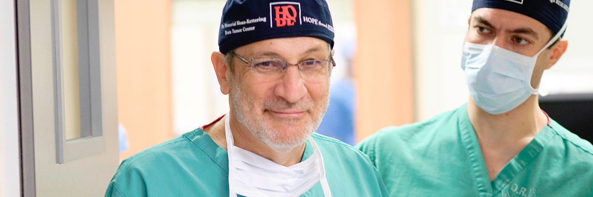 Neurosurgeon Philip Gutin has dedicated his career to caring for people with brain tumors