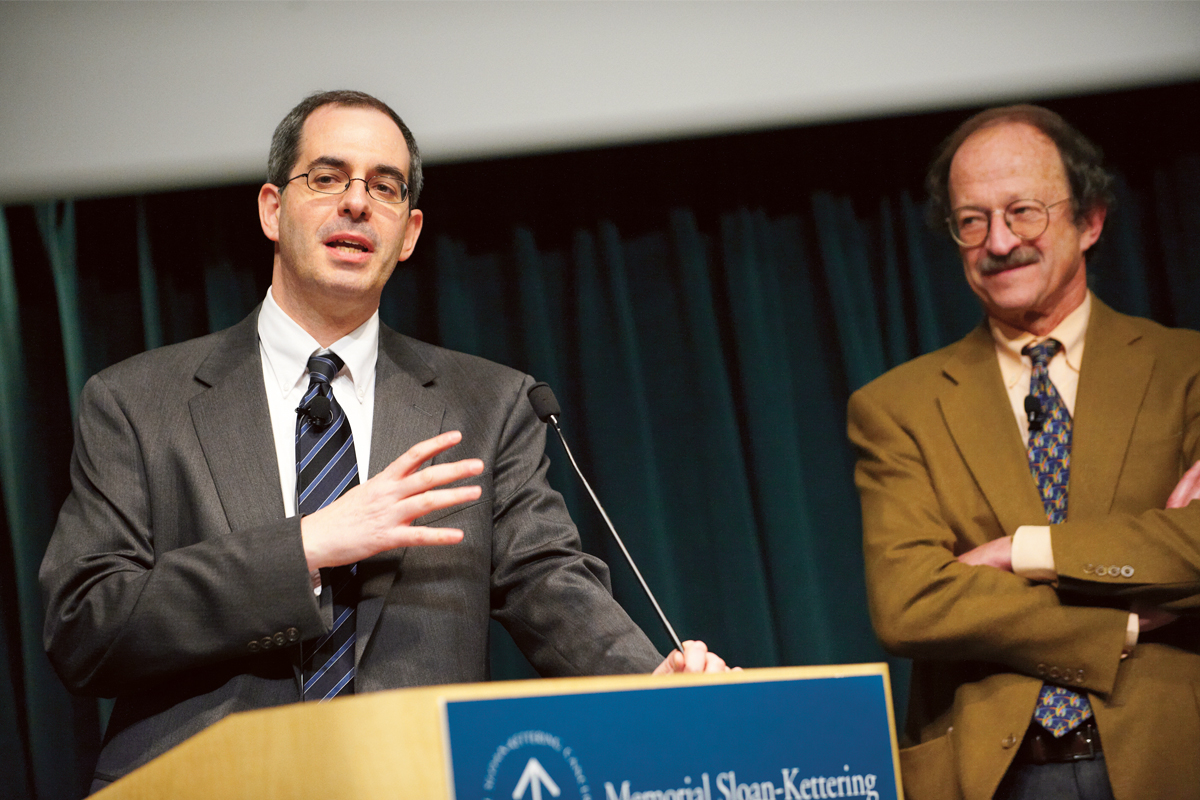 Lawrence Schwartz and Harold Varmus