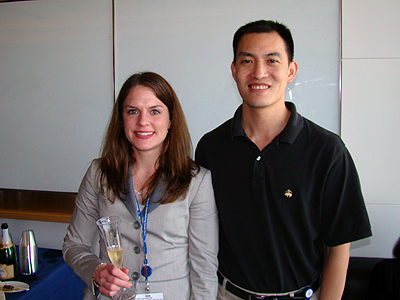 Jackie Wurst, Derek Tan, diversity oriented synthesis, rational drug design, chemical biology research