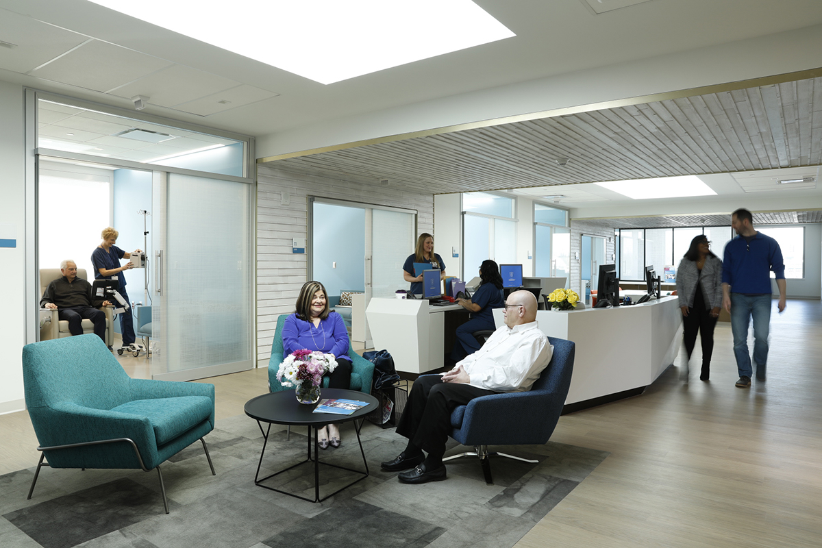 MSK Nassau is a calm, healing environment with privacy and easy access to care teams