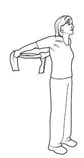 Figure 5. Stretching back