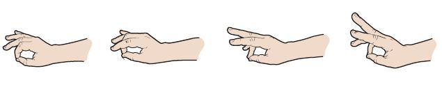 Рисунок 20. Сопоставление пальцев