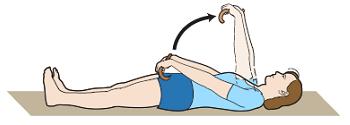 Рисунок 22. Уражнение с тростью