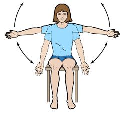 Рисунок 9. Подъем рук в стороны