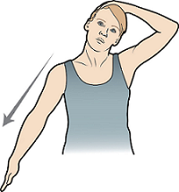 Figure 3. Side neck stretch