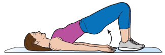 Figure 2. Pushing up through your feet