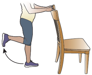 Figure 7. Bending your knee