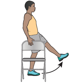Figure 10. Lifting your leg